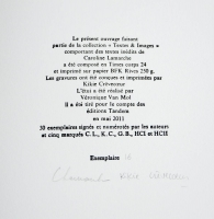 Trognes - Colophon